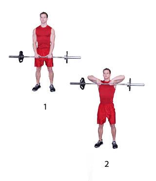 trainen schouders